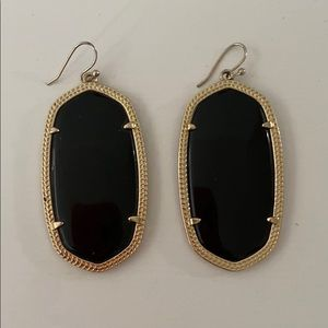 Black Kendra Scott earrings